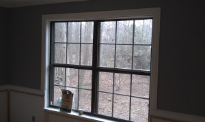 dining room window molding